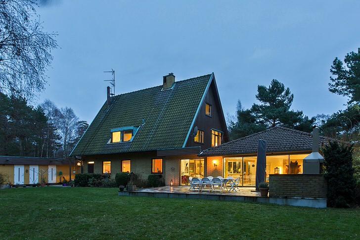 Дом в скандинавском стиле в Берлине.
