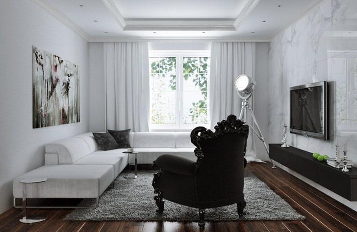 Диван в стиле хай тек должен быть функциональным и большим. Современная мебель создана для комфортного отдыха.