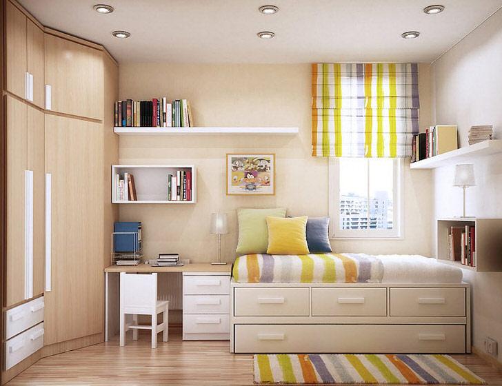 Модульная мебель представляет собой отличный вариант для оформления детской.