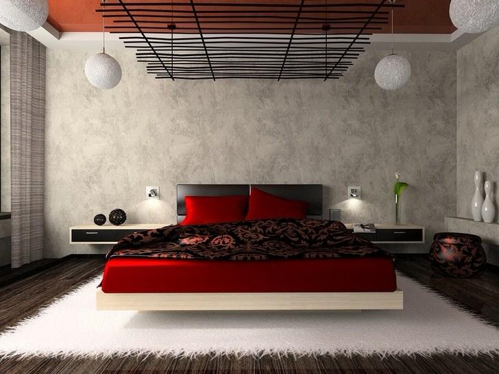 Креативный дизайн в спальне