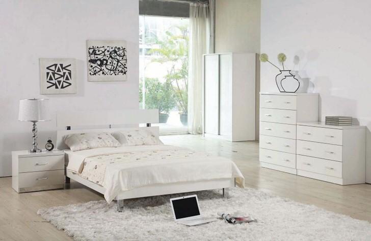 Полезное пространство в соответствии со стилем модерн использовано предельно экономично.