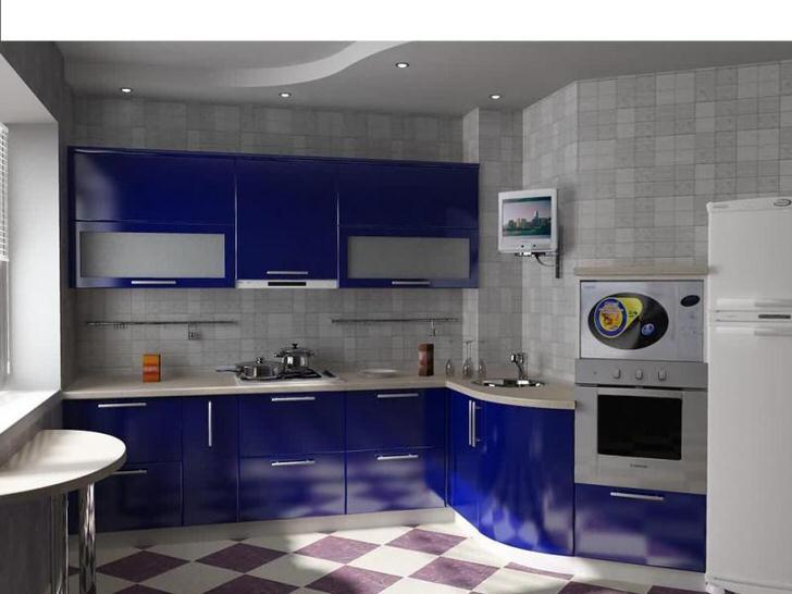 Кухня площадью 9 квадратных метров организована с точки зрения экономии полезного пространства. Функциональность кухонного гарнитура и его эстетическая привлекательность делают меблировку отличным выбором для квартир-студий.