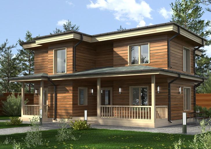 Лаконичное оформление модульного дома делает его не только привлекательным, но и функциональным.