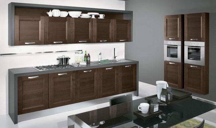 Для стильной кухни правильно подобрана мебель. Функциональный гарнитур венге не только привлекательно выглядит, он также функционален и практичен.