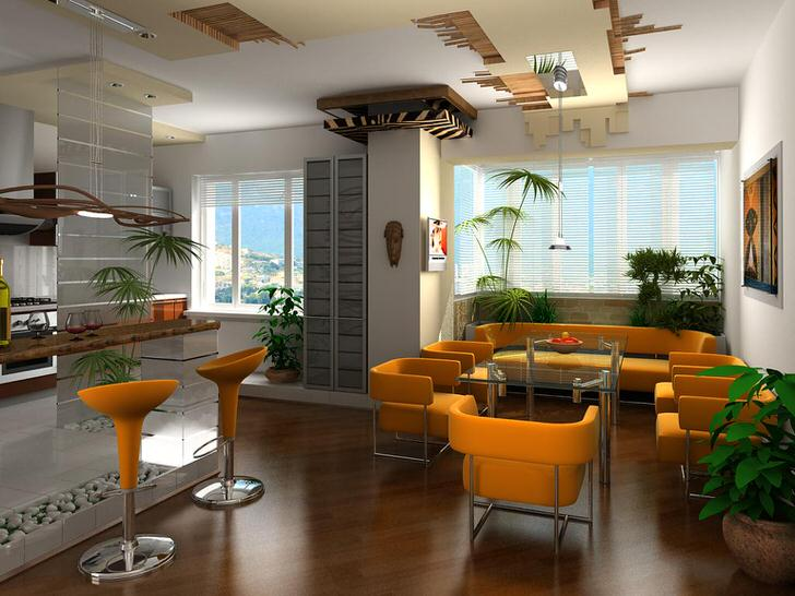 Дизайнерский проект квартиры-студии