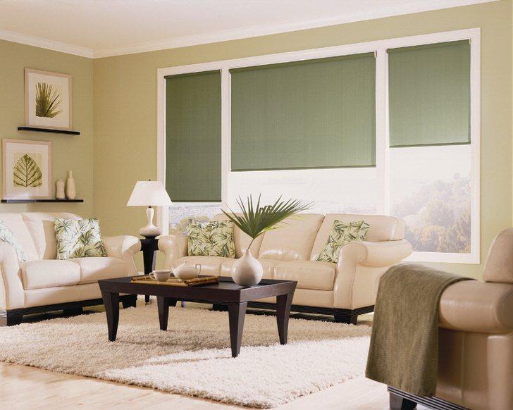 Оттенки зеленого наиболее часто используются для оформления эко стиля.