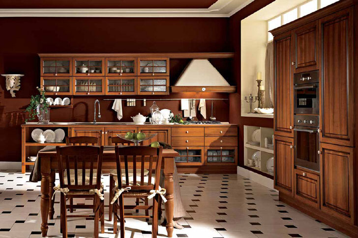 Лаконичный интерьер в стиле либерти - идеальный вариант для оформления семейного загородного дома.