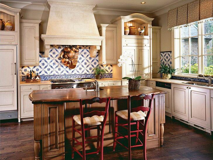 Кухня в деревенском стиле - креатичное объединение функциональности и изящества.