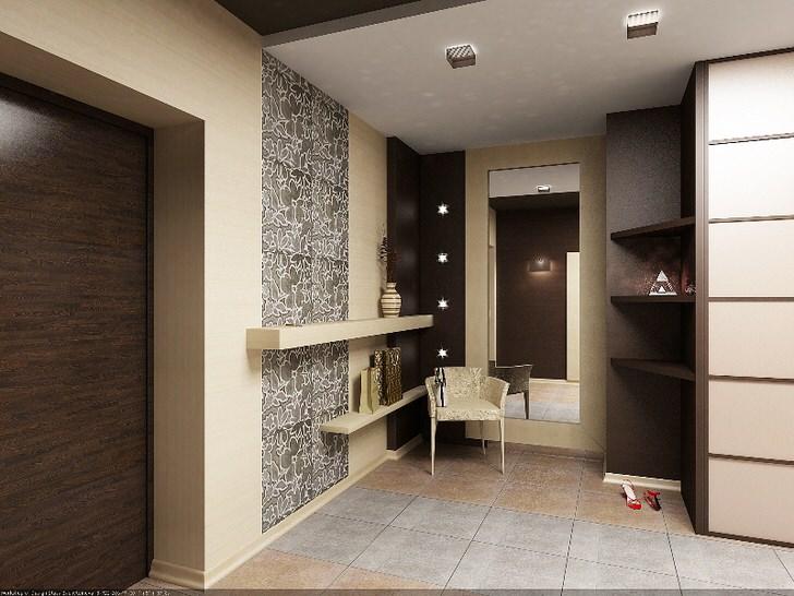 Роскошный дизайн коридора