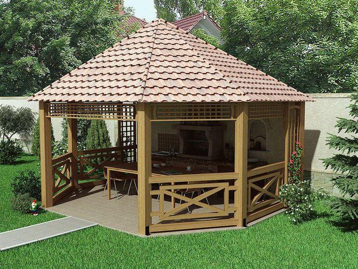 Правильно оформление крыши в скандинавском стиле.