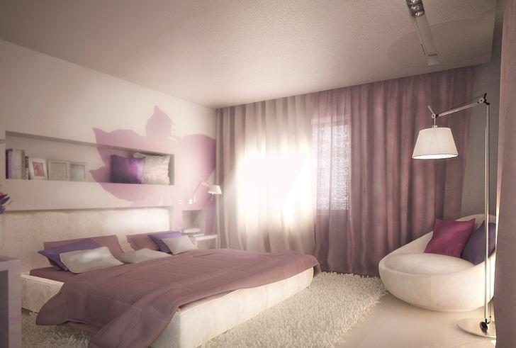 Интерьер спальни модерн