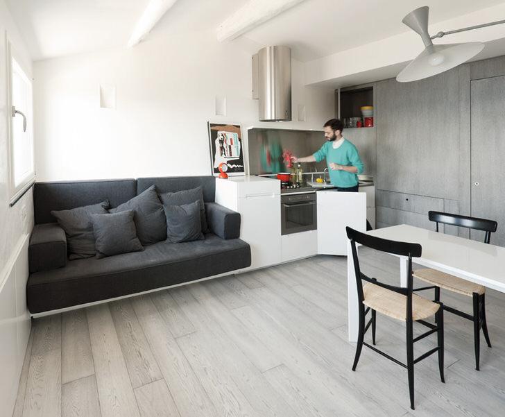 Фото дизайн квартиры в стиле модерн