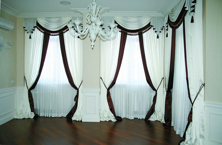 Как сшить простые шторы своими руками