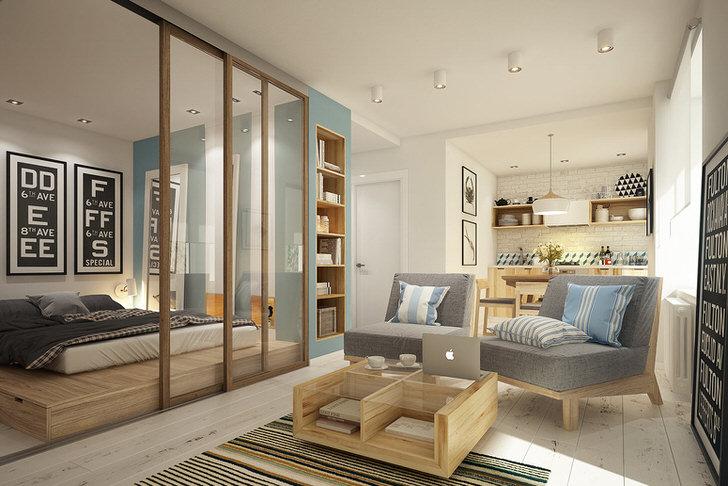 Сдержанный, легкий и мягкий скандинавский стиль подойдет для создания комфортной, уютной, по-семейному теплой атмосферы.