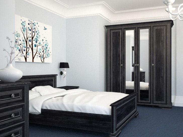 Модульная мебель для для небольшой спальни в скандинавском стиле.