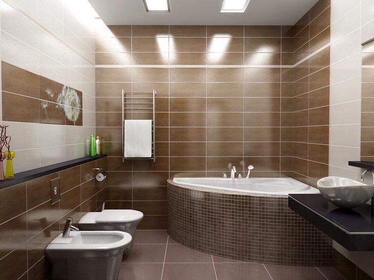 Для декора ванной в модерн в стиле использовано панно с изображением одуванчика. Легкая, незамысловатая деталь интерьера в модерн стиле.