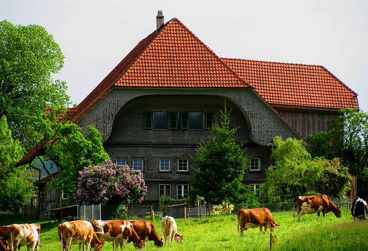 Альпийский загородный дом