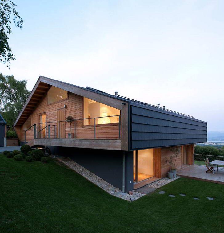 Модульный современный дом