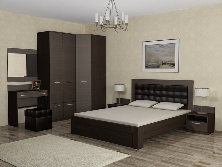 36 Спальня своими руками в деревенском стиле