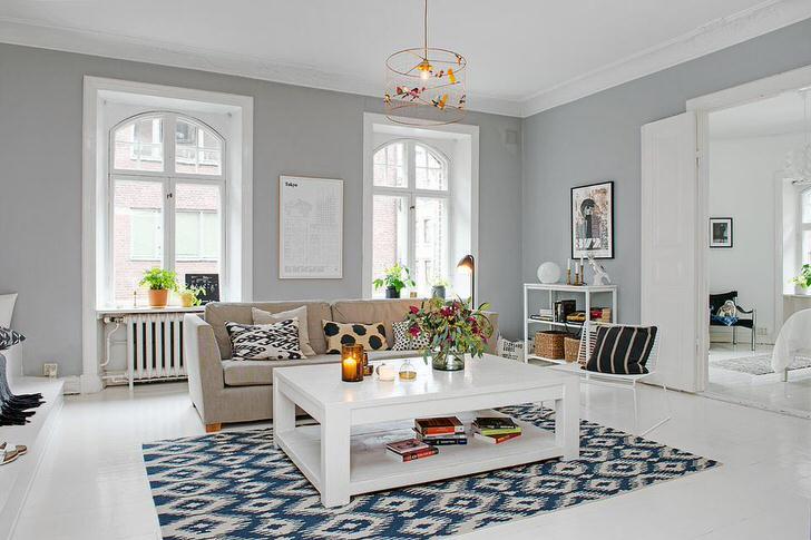 Скандинавский стиль примечателен своей уютной, лаконичной простотой.