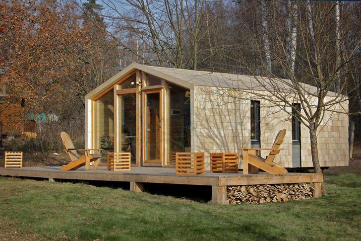 Модульный дом для дачи - выбор номер один среди современных дачников.