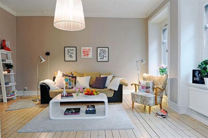 Комната для гостей в скандинавском стиле