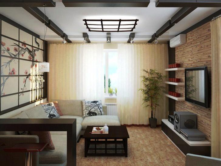 Стиль японского минимализма отлично подходит для оформления малогабаритных квартир.