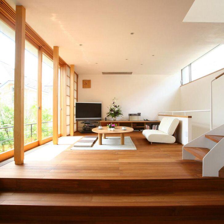 Японский минимализм не терпит избыточных декоративных деталей. Лаконичная простота в наборе с восточным колоритом делает интерьер ярким и запоминающимся.
