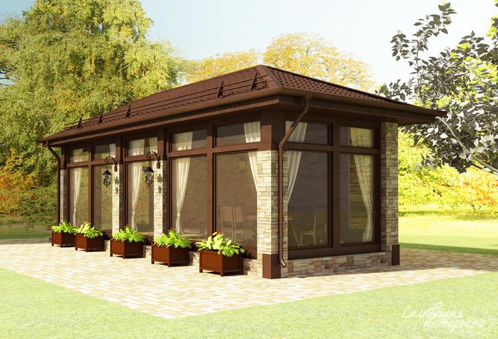 Дизайн обычных домов
