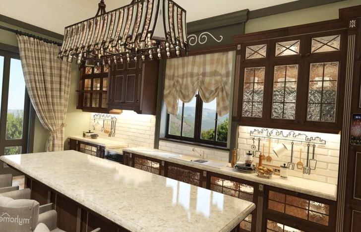 Роскошная мебель для кухни