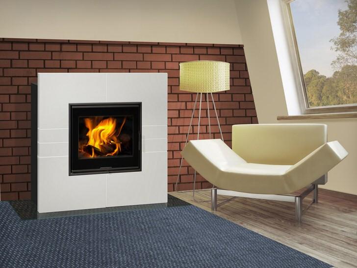 Правильно подобранная панель для печи-камина длительного горения позволит сделать интерьер завершенным и привлекательным.