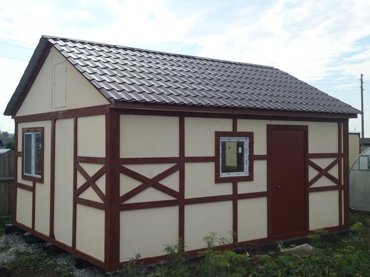 Модульный дом имеет отличные внешние данные. Он также функционален и практичен, ничем не уступает традиционным дачным строениям.