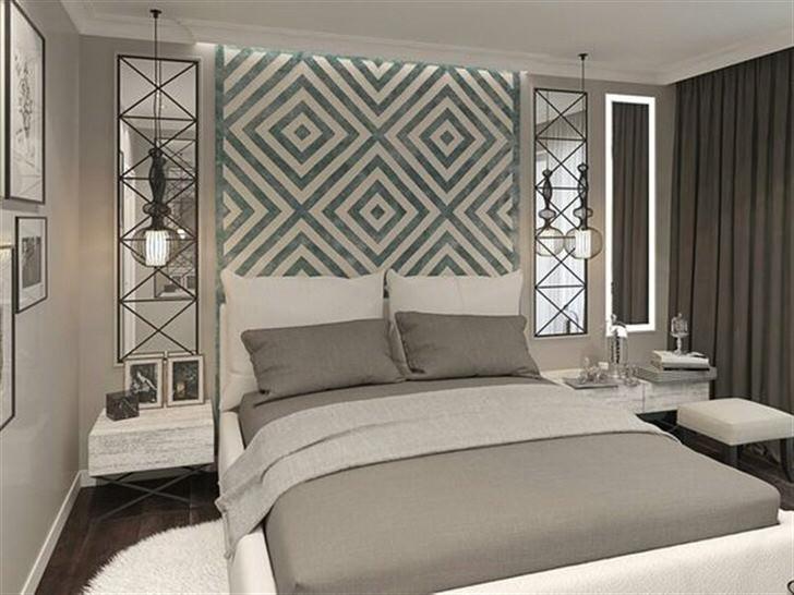 Современный неоклассический стиль для спальни не только привлекателен и роскошен, но и практичен.