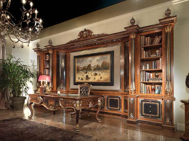 Деревянный гарнитур для гостиной