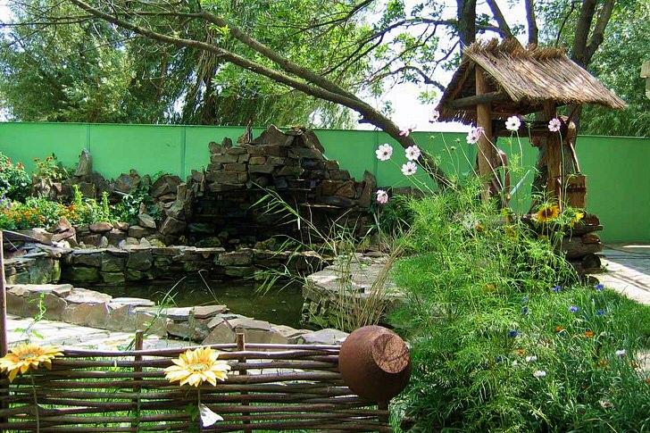 Деревенский двор