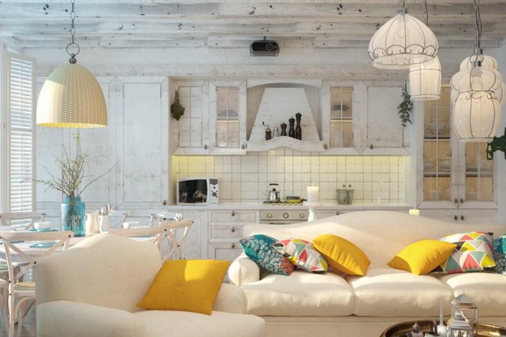 Кухня в скандинавском стиле смотрится изысканно и непревзойденно. Идеальное решение для людей, которые превыше всего ценят уют.