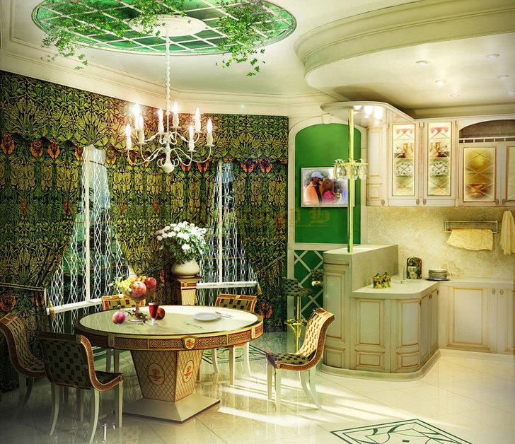 Стулья для обеденной зоны в стиле ампир в необычном исполнении. Мебель в стиле ампир также может быть лаконичной и функциональной.
