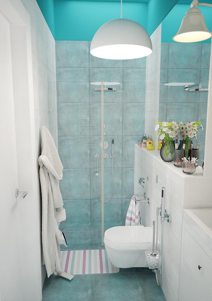 Стильный душ