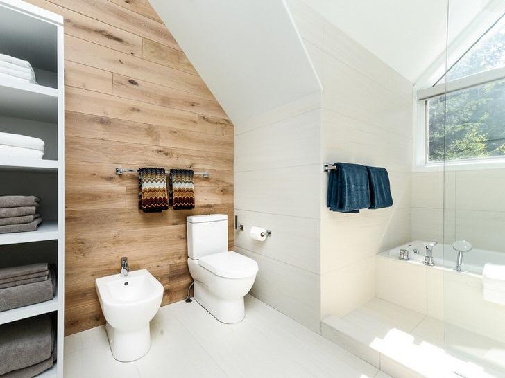 Скандинавский стиль примечателен натуральной отделкой стен и подбором правильной функциональной мебели.