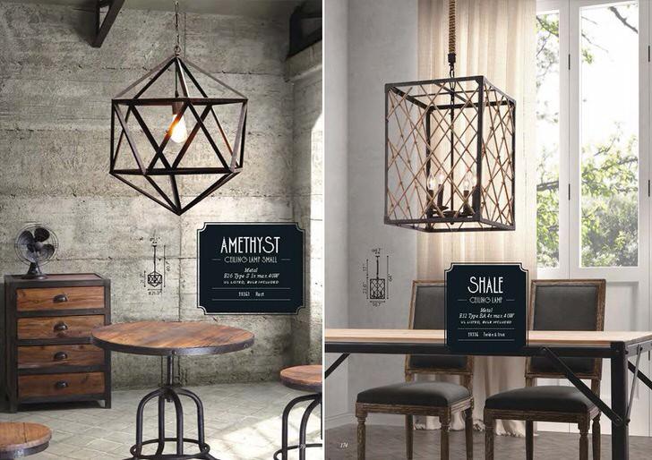Плафон светильника в стиле лофт из металла можно сделать своими руками. Немного фантазии и профессионализма и ваш интерьер станет самым необычным.