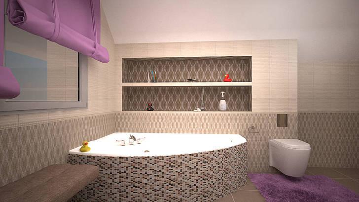 Изысканный минимализм в ванной комнате юной леди. Исключительное женское оформление.