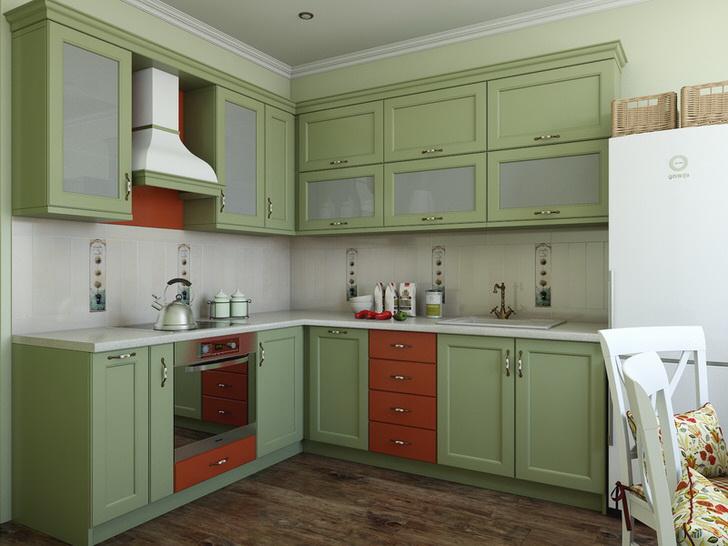 Нежно-оливковый цвет идеален для оформления интерьера в средиземноморском стиле.
