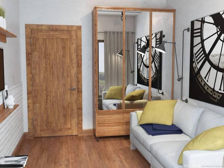 Стиль лофт необычайно уникален и функционален. Мягкий диван с ортопедическим спальным местом - отличный вариант для ребенка.