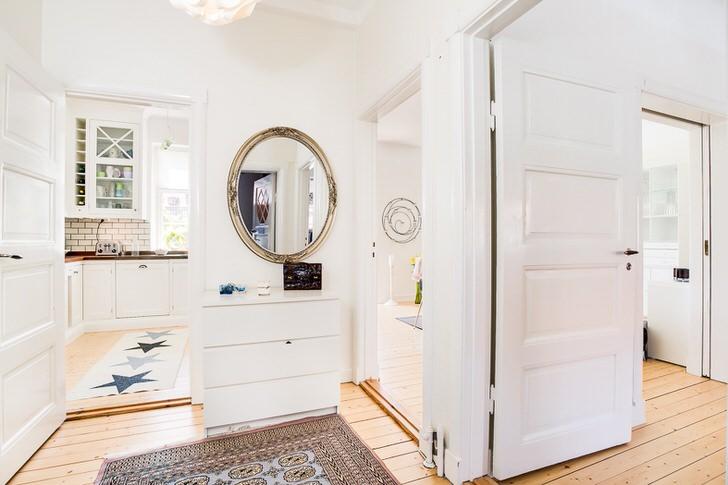 Целью скандинавского стиля является создание уютного, комфортного интерьера.