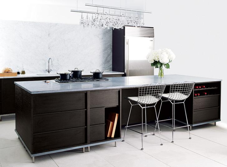 Цвет венге для оформления кухни - выбор современных домохозяек.