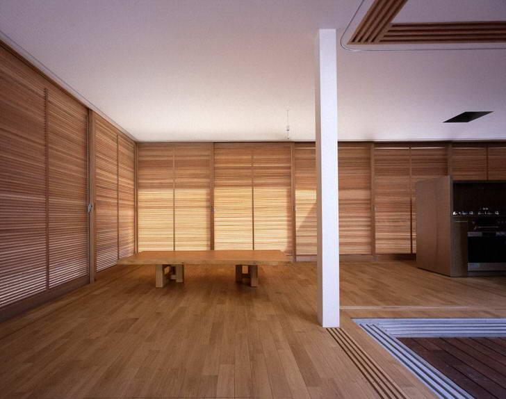 """Стиль минимализм """"по японски"""" не обходится без низкого столика. Данная деталь интерьера является одним из ярчайших проявлений восточной тематики."""