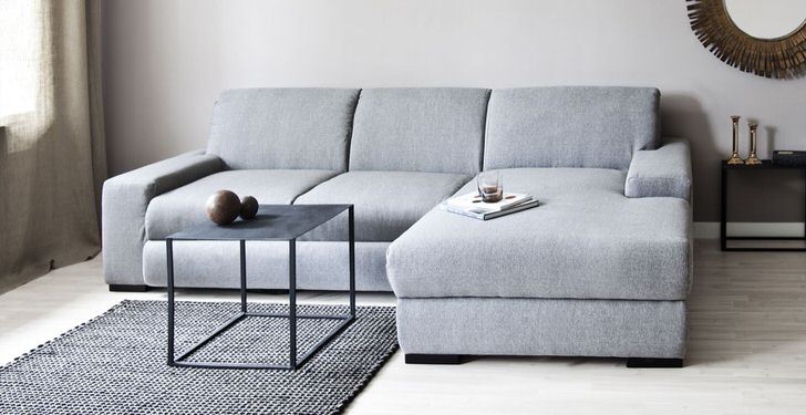 Планирование интерьера гостиной в стиле скандинавский минимализм.
