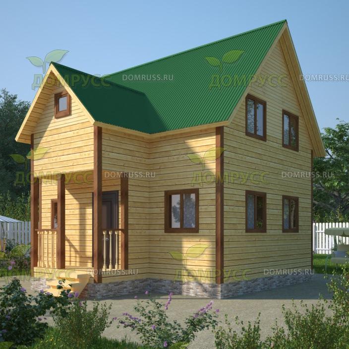 Достоинством таких домов является скорость строительства если вы доверите его постройку солидной компании.