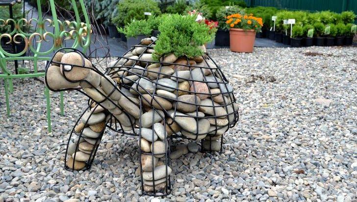 Скульптурные габионы