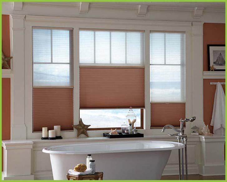 Относительная лёгкость монтажа штор-плиссе позволяет устанавливать шторы в любых помещениях одним полотном на всё окно или на отдельные проёмы.